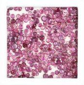 Lot lose Rubine zus. ca. 30.35 ct, versch. Größen, rund- und ovalfacett. Schätzpreis: 3500, - EURLot