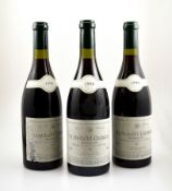 3 bottles of 1996 Nuits-Saint-Georges, Premier Cru, Andre Montessuy, each approx 75 cl, 13 % Vol.,