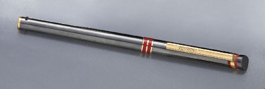 "FERRARI rollerball ""Formula"", 1980/90s , anthracite colored satin finished stainless steel corpus"