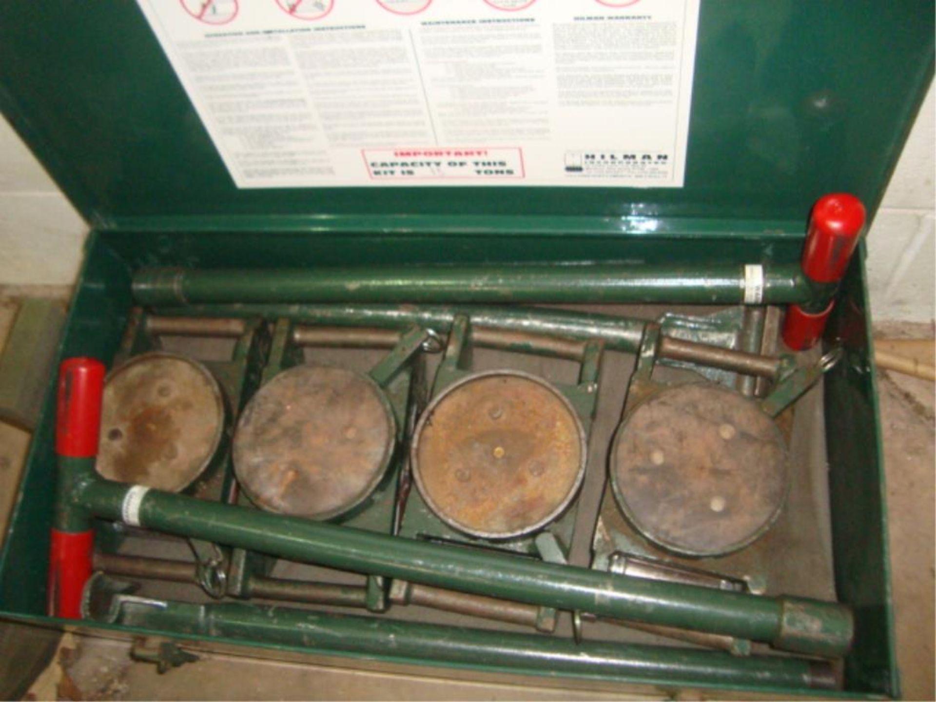 Lot 3832 - Tractor Machine Dollies