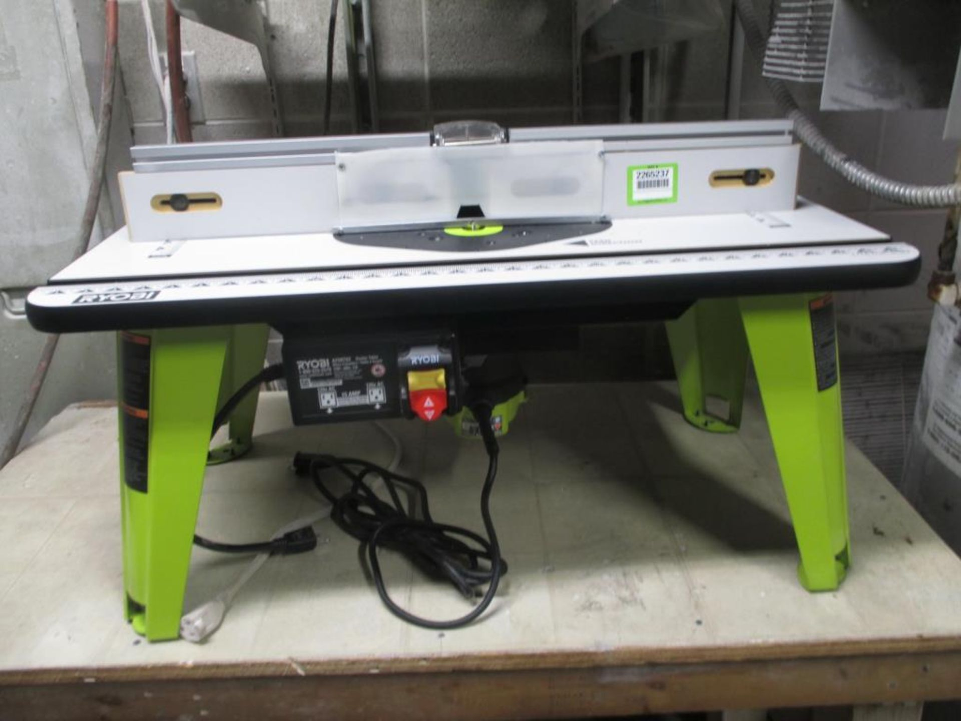 Lot 129 - Router System