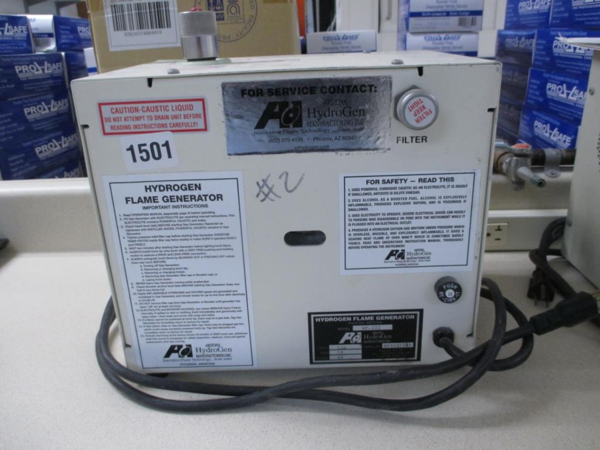 Lot 136 - Precision Soldering Unit