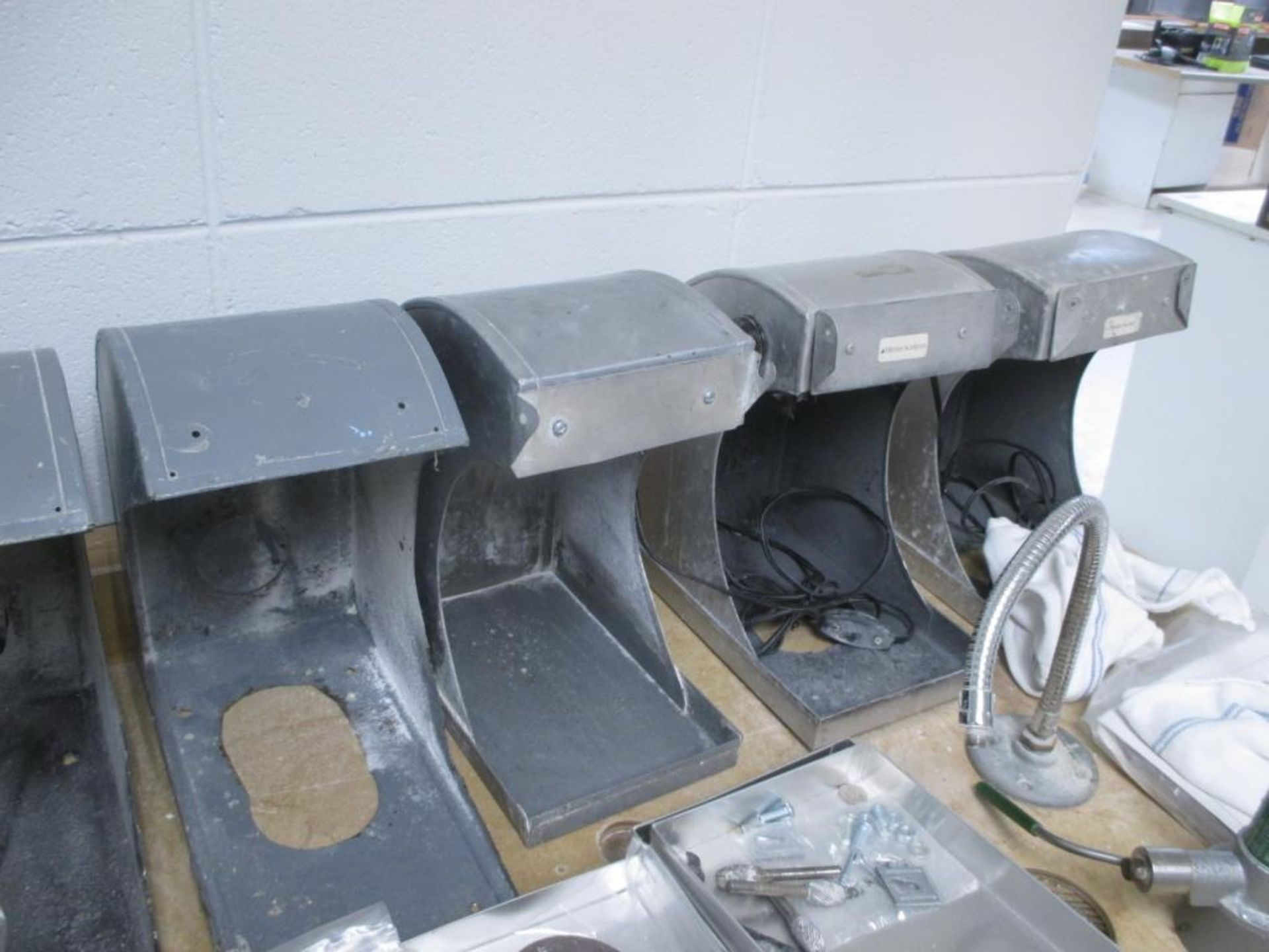 Lot 153 - Grinder Dust Hoods