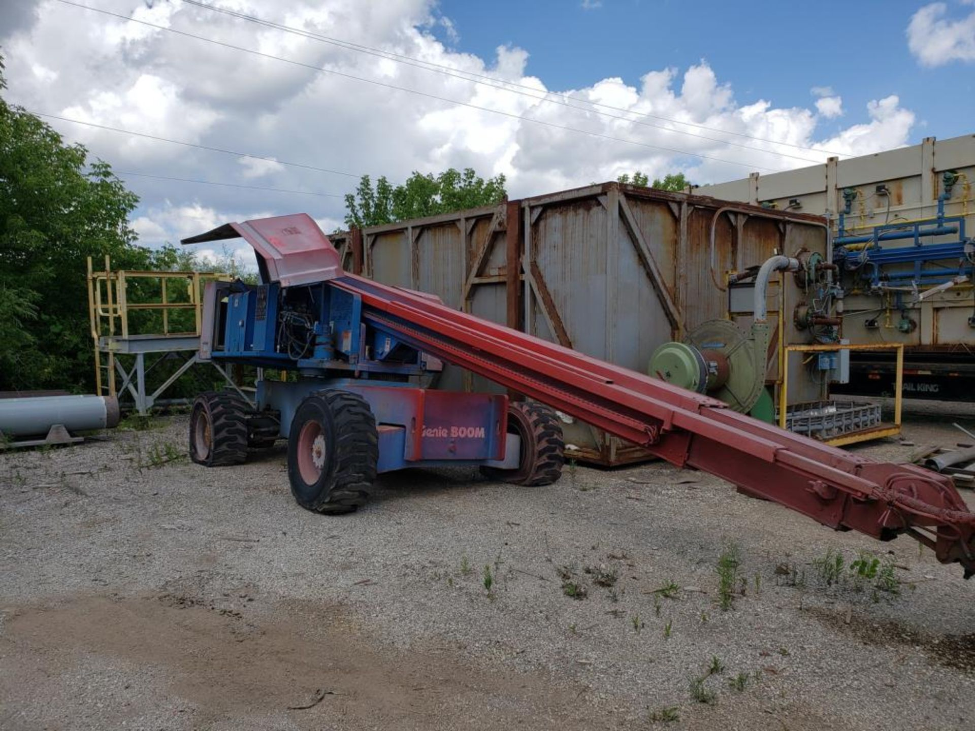 Lot 140 - Telescopic Boom Lift