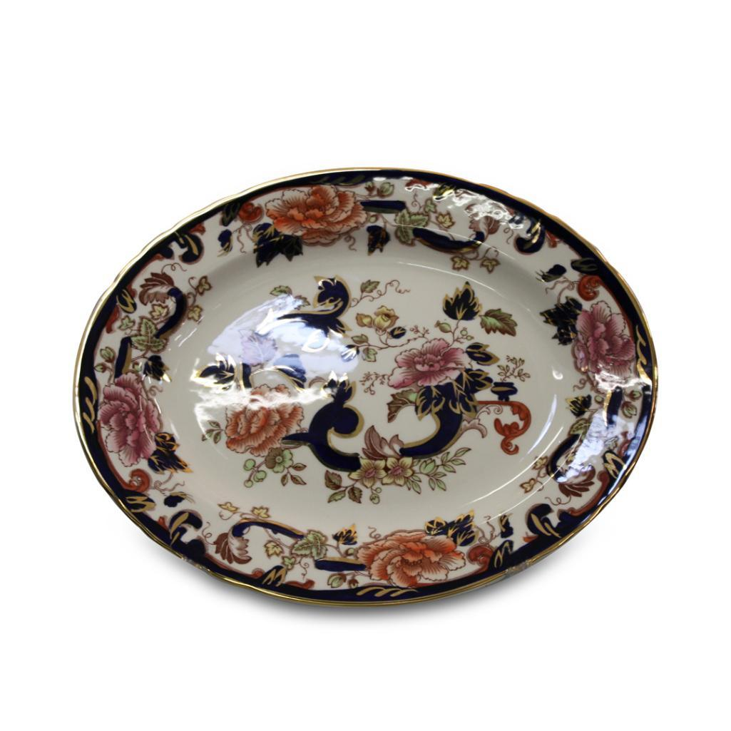 Lot 40 - MASON'S MANDALAY PATTERN OVAL MEAT PLATTER