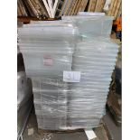 1 x Pallet of Mixed Plastic Storage Boxes