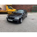 BMW 1 Series - 1.6L, Black, Petrol, 2006 Reg, MOT'd Until March 2020