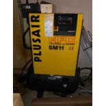 HPC SM11 Screw Air Compressor Inc Tank