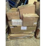 1 x Pallet of Mixed Stock/Stationery Including Box Files, Archive Boxes, Lever Arch Files, Square