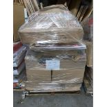1 x Pallet of Mixed Stock/Stationery Including Box Files, Bankers Boxes, Lever Arch Files,