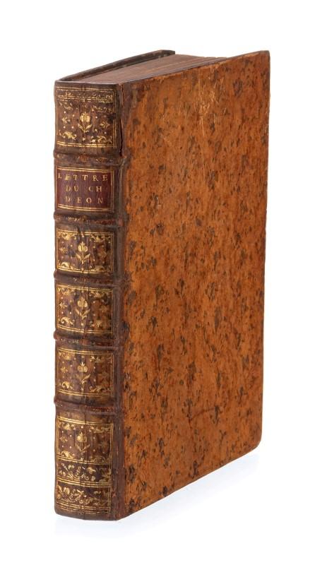 Lot 39 - EON de BEAUMONT. Lettres. memoires & négociations particulières du Chevalier d'Eon... la haye