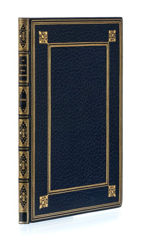 Lot 11 - ANONYME-GONDOT Le prix de la Beauté ou Les Couronnes. Paris. De Lormel. 1760. Petit in-4° relié plei