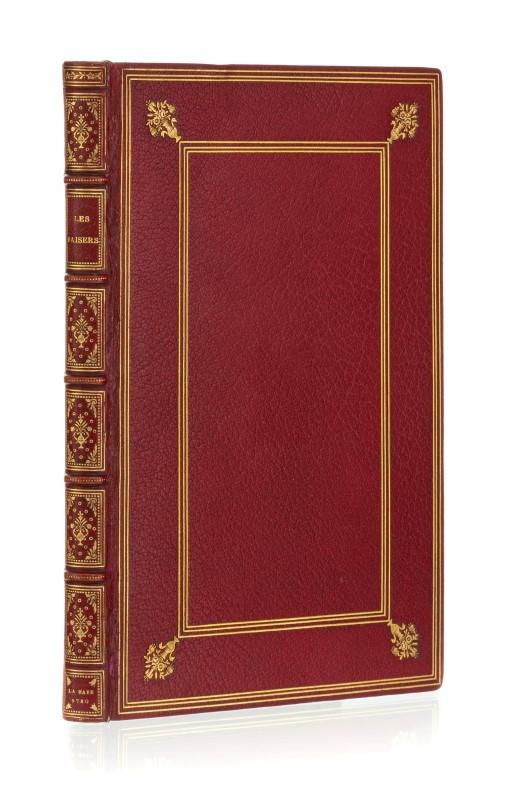 Lot 35 - DORAT. (Claude-Joseph).Les Baisers. précédés du Mois de mai. poëme. 1 vol. in-8° relié