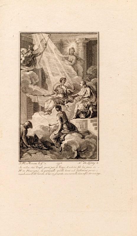 Lot 47 - IMBERT. Les Bienfaits du sommeil ou quatre rêves accomplis. Paris. Brunet. s.d. [1776]. In-12°. reli