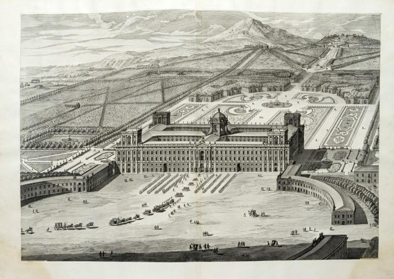 Lot 12 - ARCHITECTURE VANVITELLI Dichiarazione dei disegni Palazzo di Caserta. Naples. Regia Stamperia. 1756.