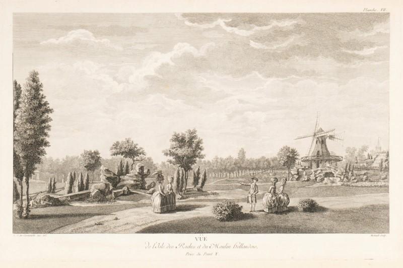 Lot 22 - CARMONTEL. Jardin de Monceau près de Paris.... Paris. 1779. 1 vol. in-folio