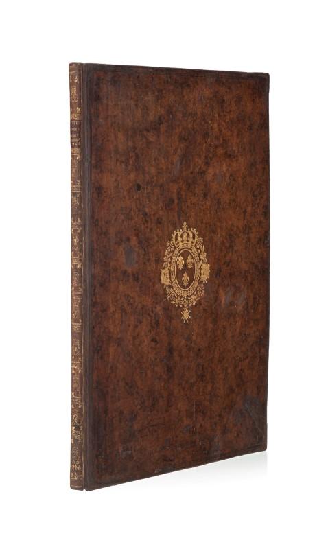 Lot 60 - Louis XV. Représentation des fêtes données par la ville de Strasbourg. 1748. 1 vol. in-folio plein v