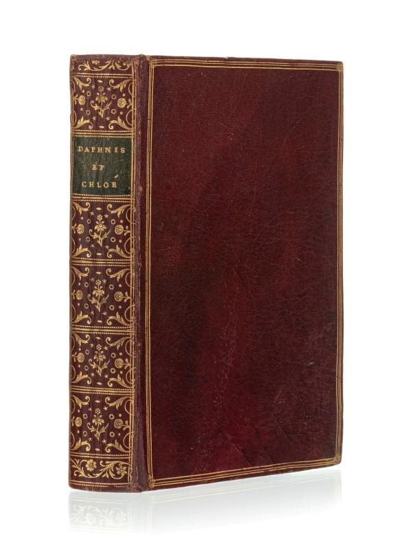 Lot 58 - LONGUS. Les Amours pastorale de Daphnis et de Chloé. Paris. s.n.. 1757. 1 vol. petit in-4° relié ple