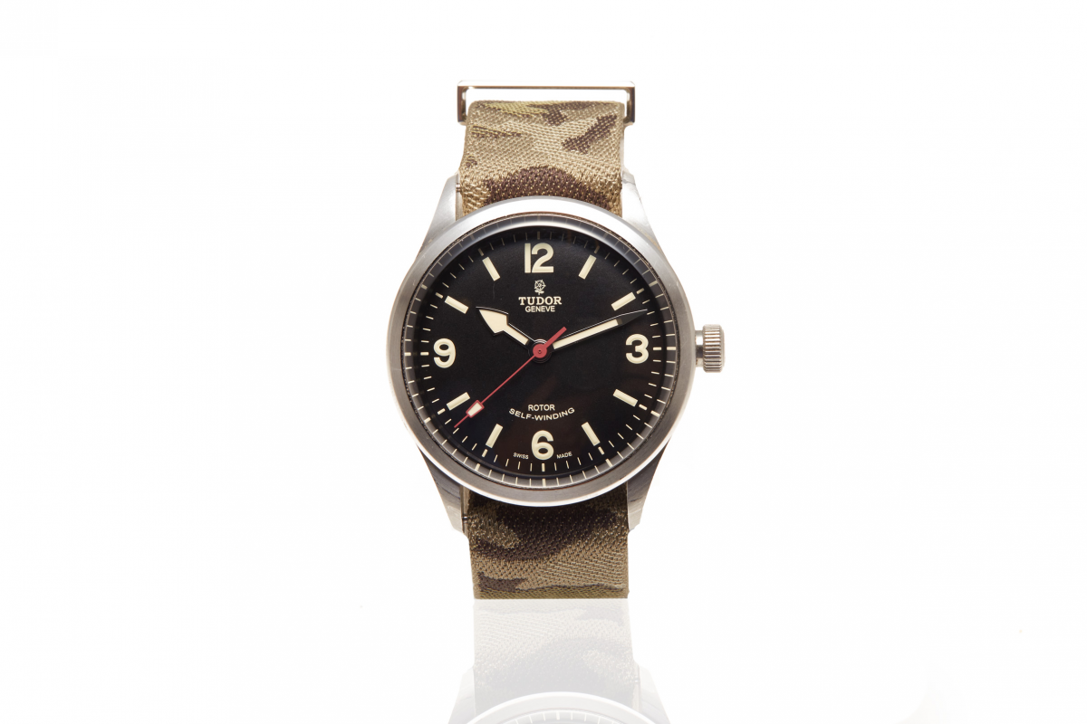 Lot 12 - TUDOR - A 'HERITAGE RANGER' WATCH