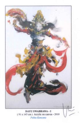 IDA BUGUS INDRA (INDONESIAN, B.1974) - DAYU SWABHAWA 2 - Image 4 of 5