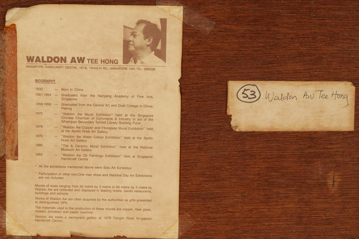 TEE HONG AW (SINGAPOREAN, B.1932) - FISHERMEN'S JOY - Image 11 of 13