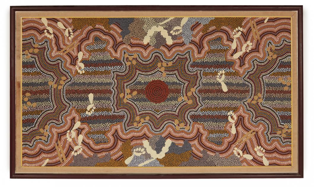 AUSTRALIAN ABORIGINAL ART (20/21ST CENTURY) - CAMPSIDE