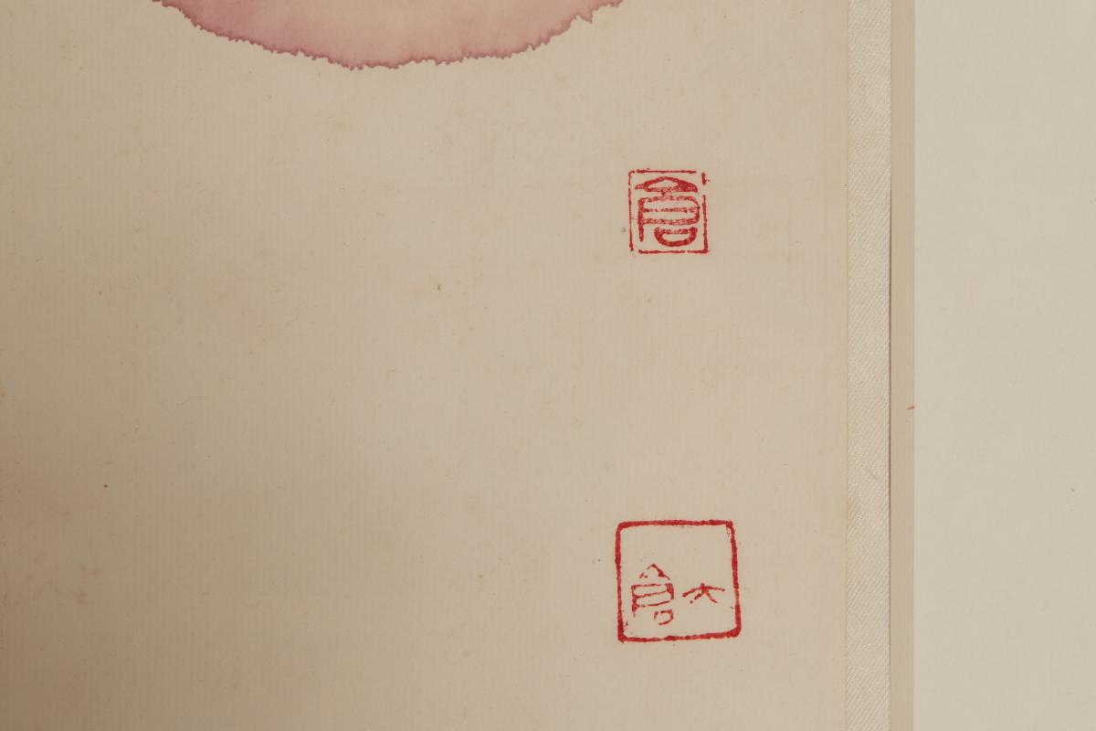 LI CANGYI (CHINESE, B.1969) - FISH AND LOTUS - Image 2 of 2