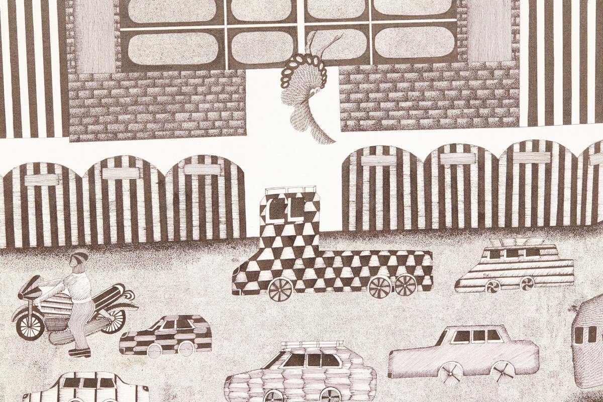 Lot 60 - MAYANK SHYAM (INDIAN, B.1987) - DELHI FORT