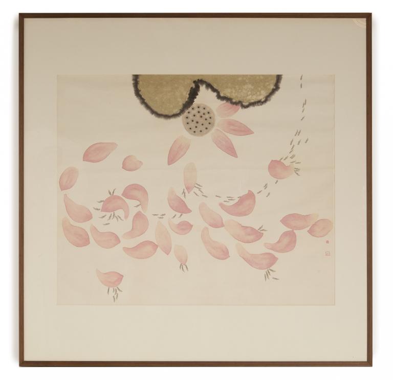 LI CANGYI (CHINESE, B.1969) - FISH AND LOTUS
