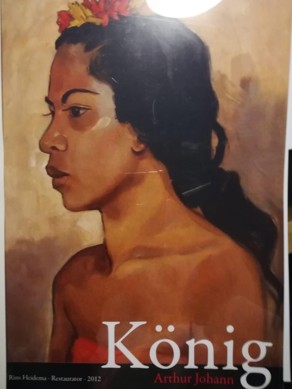 ARTHUR JOHANN JO KÖNIG (GERMAN, ?-1951) - BALINESE WOMAN - Image 3 of 5