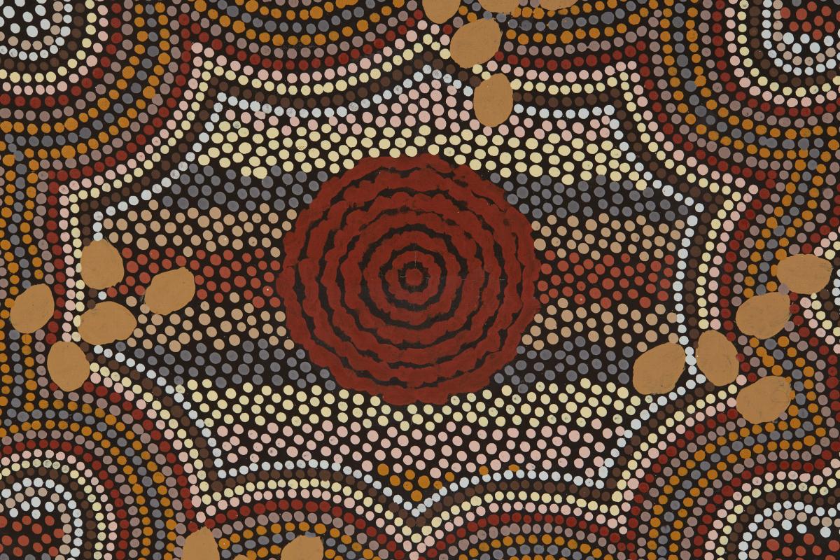 AUSTRALIAN ABORIGINAL ART (20/21ST CENTURY) - CAMPSIDE - Image 2 of 2