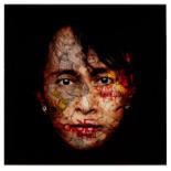 BRUNO TIMMERMANS (BELGIAN, B.1977) - AUNG SAN SUU KYI