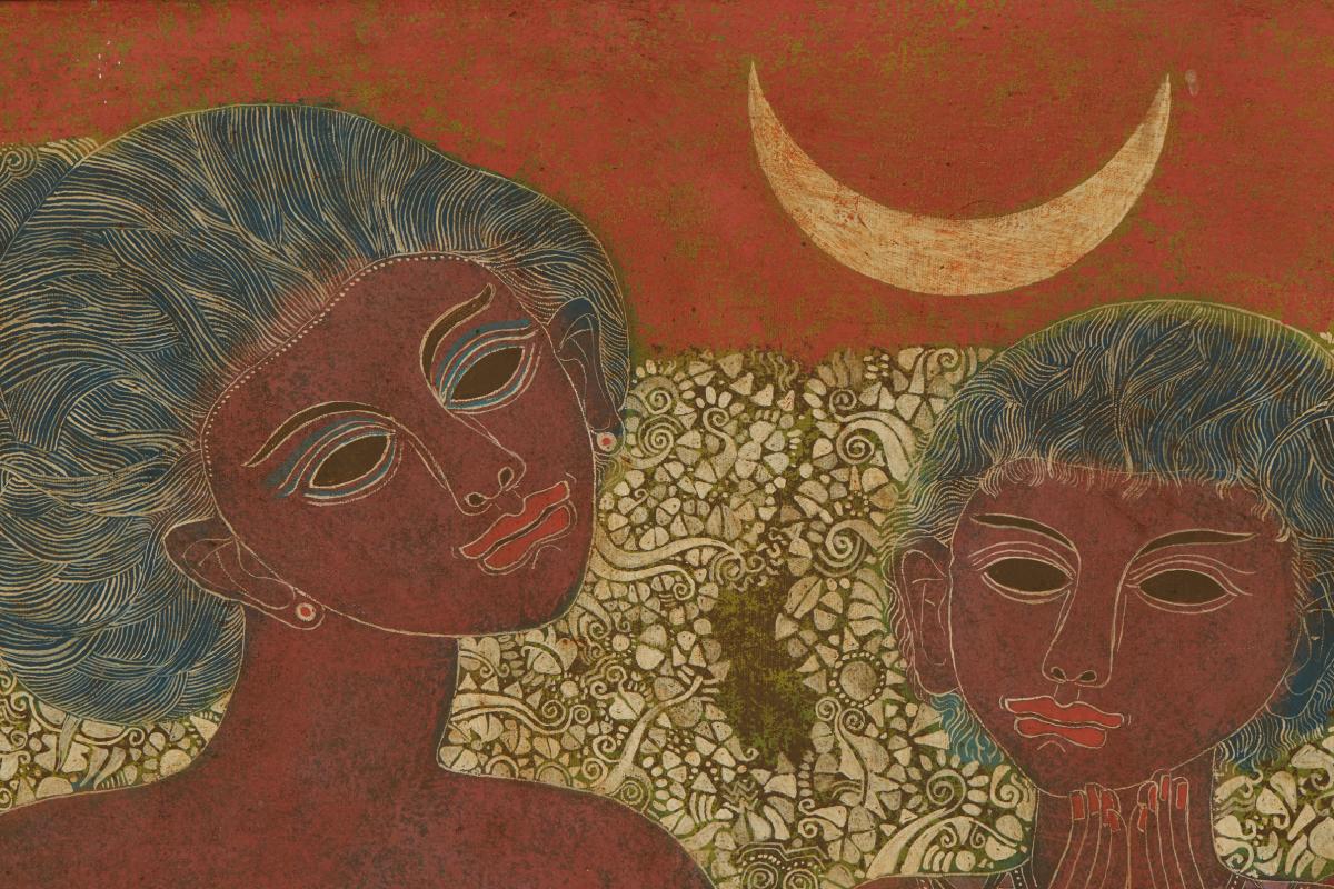 IRSAM (INDONESIAN, 1942-2007) - IBU DAN ANAK - Image 2 of 4
