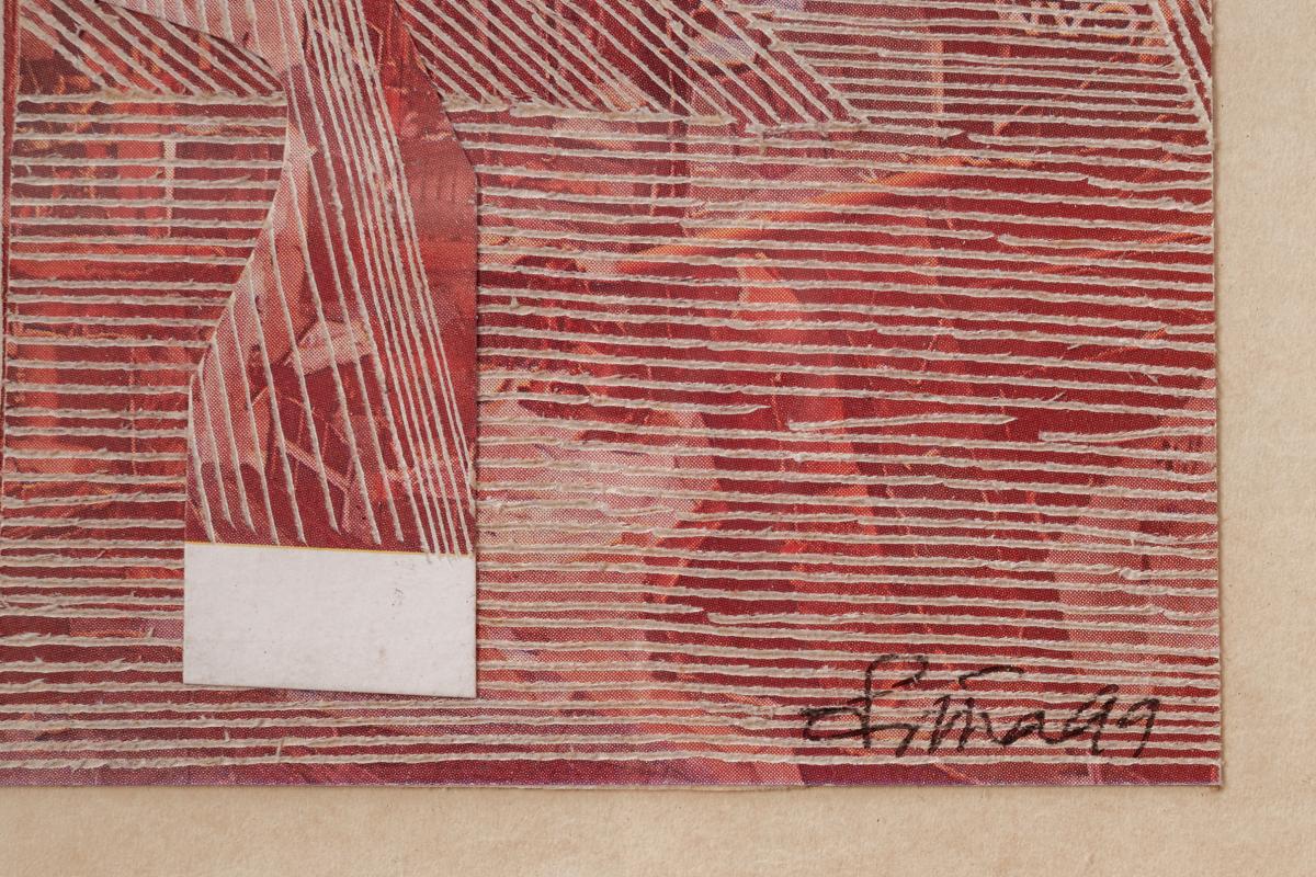 PRATHA PRATIM DEB (INDIAN, B.1943) - A SERIES OF THIRTY-TWO FRAMED COLLAGE - Image 7 of 8