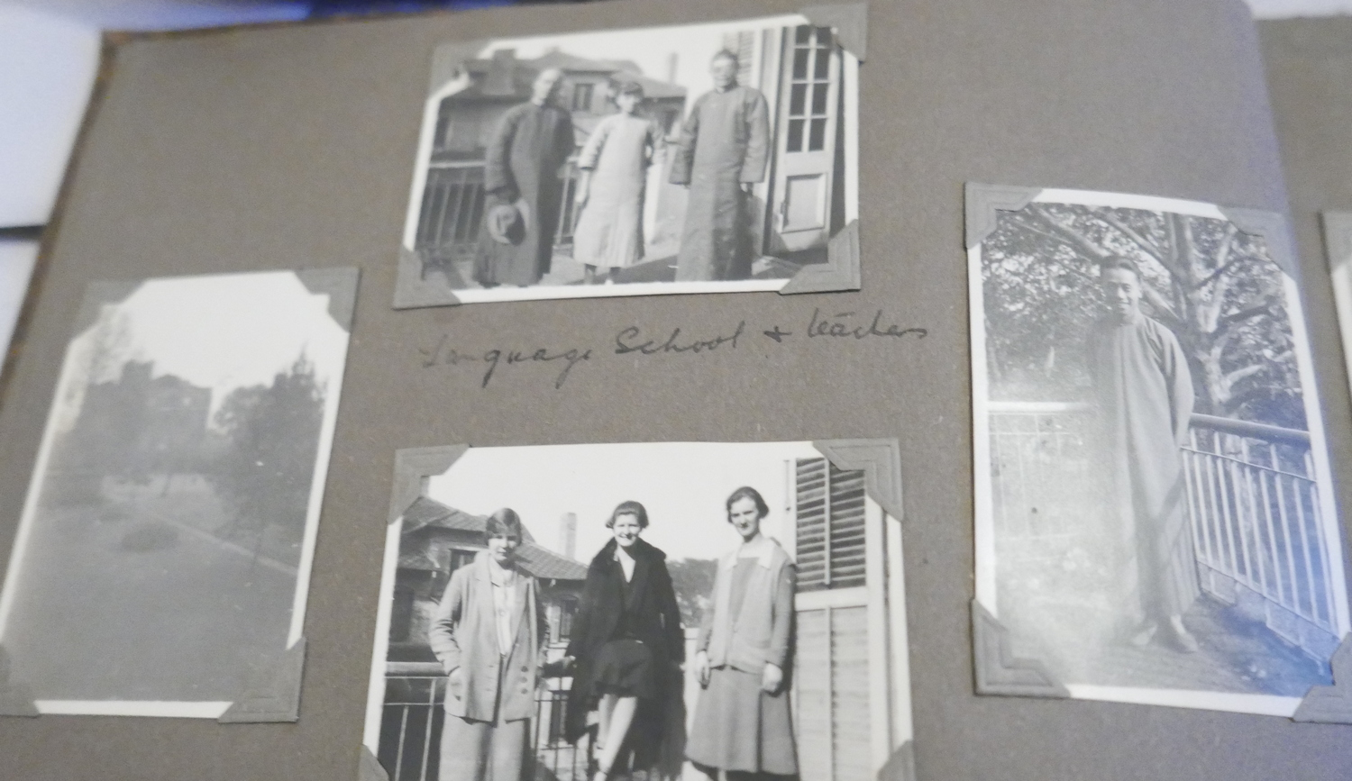 Lot 44 - Album of Photo's of Missionary Family in China - Shangai and Soochow c1930 - approx 60 images-c1930