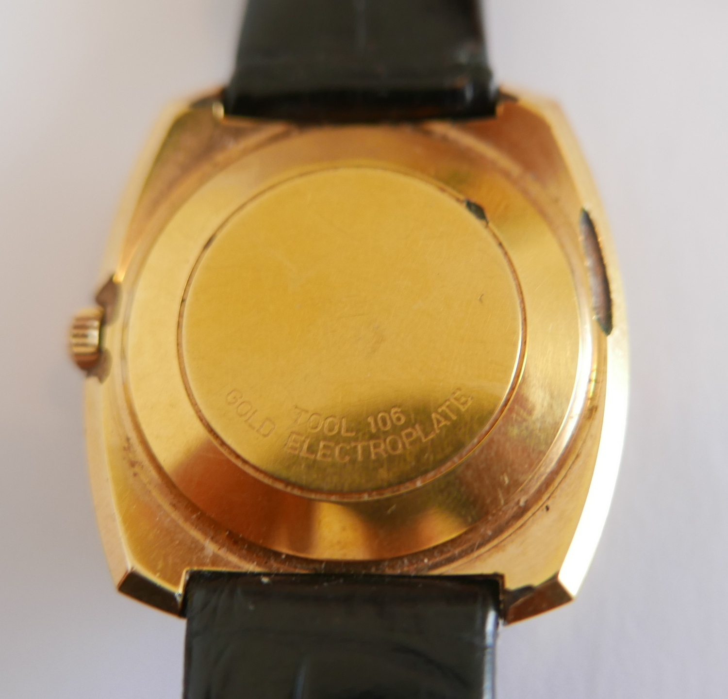 Lot 73 - Vintage Omega Automatic Gold Plated De Ville Gents Wristwatch.