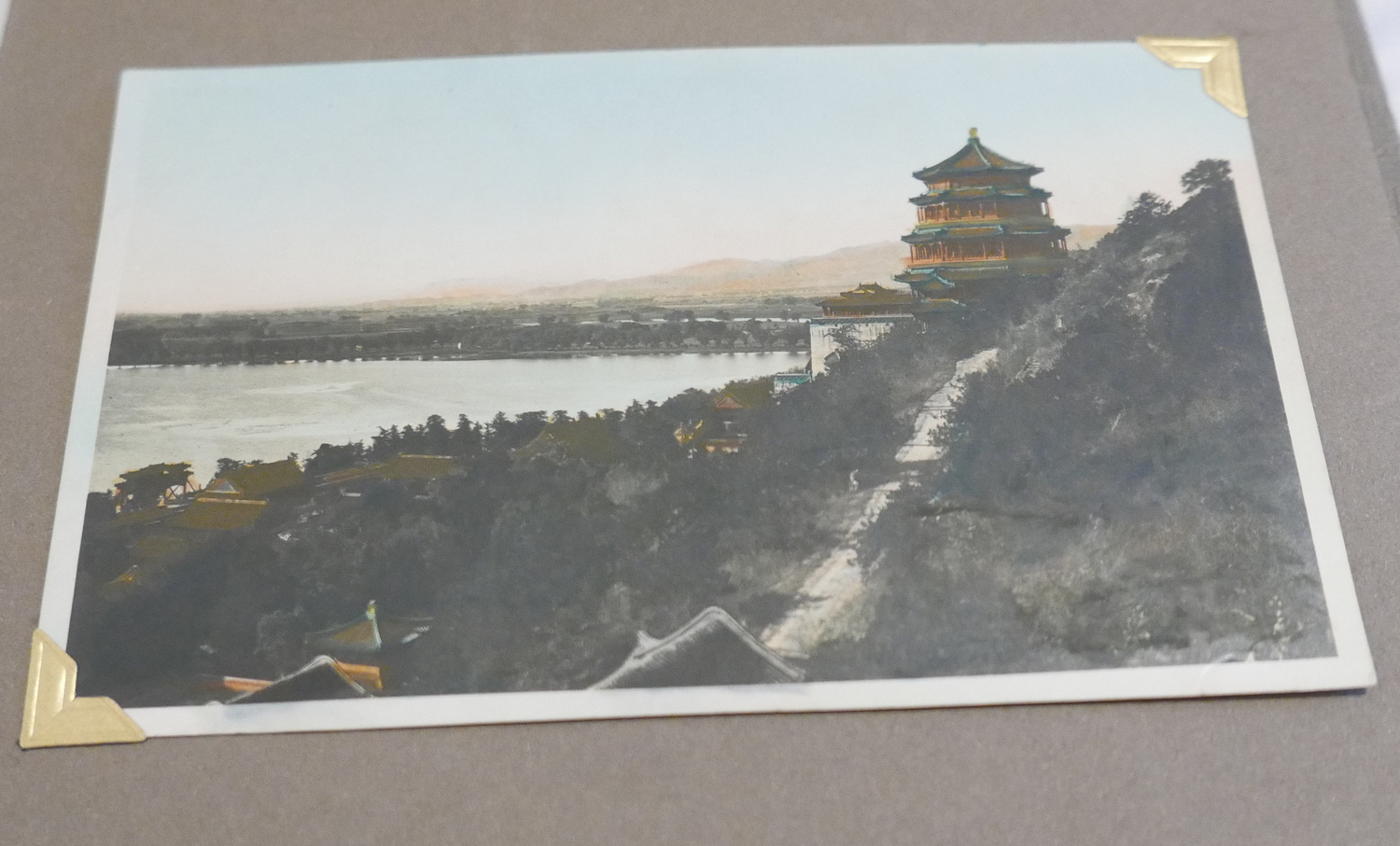 Lot 45 - Album of 24 Photographs of the Summer Palace Bejing c1930 by Mei Li Photographer