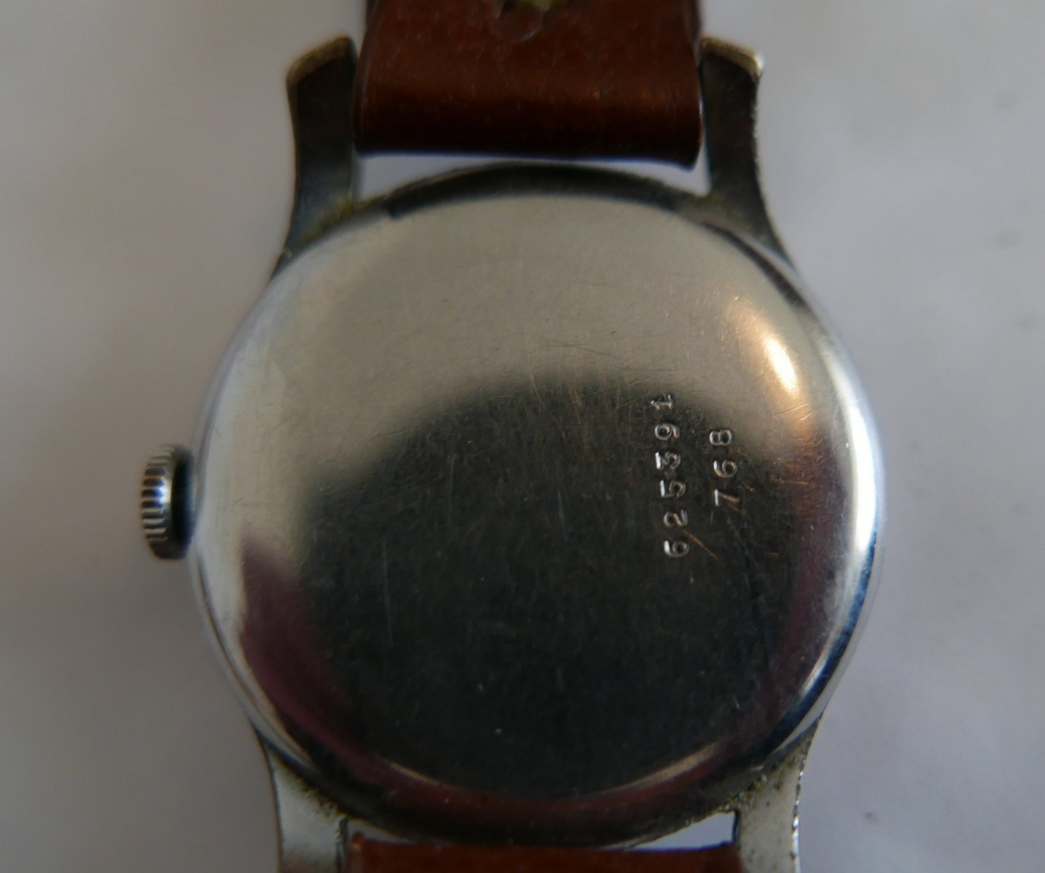 Lot 72 - Vintage Tudor Stainless Steel Wristwatch - running order.