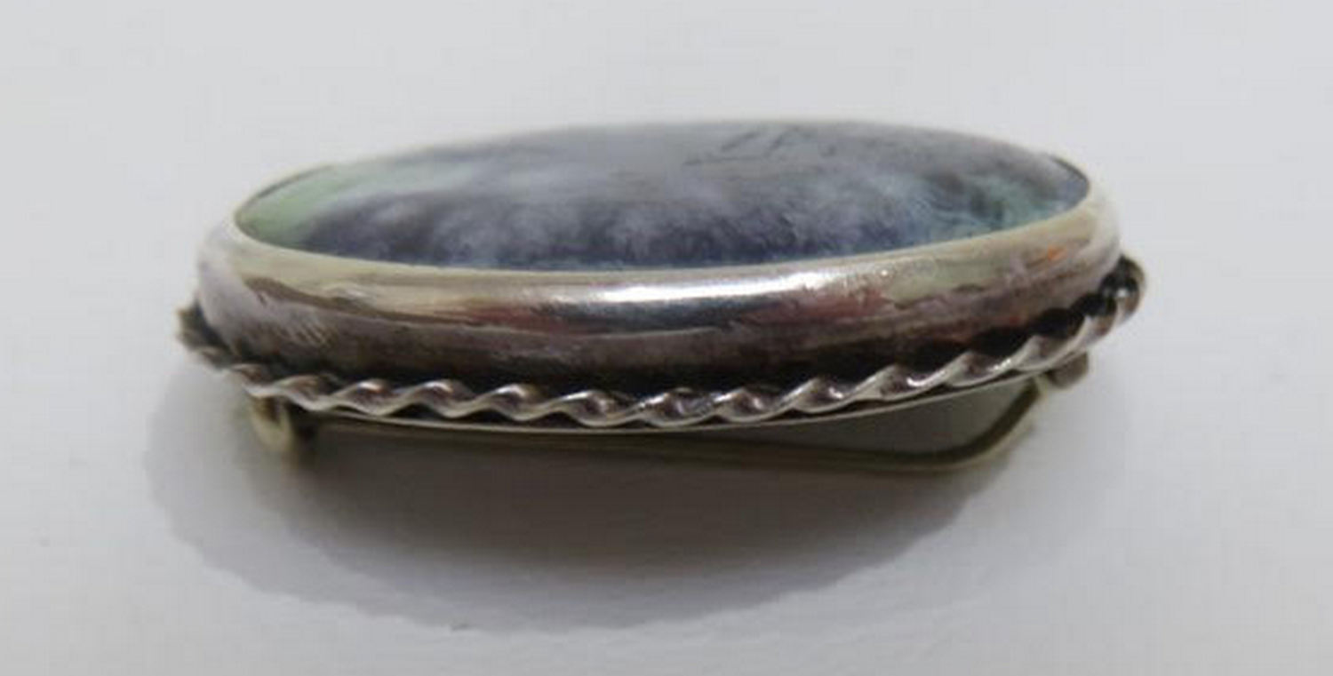 Lot 90 - Charles Horner Ruskin Brooch - 39mm x 29mm with Chester Silver Hallmarks.