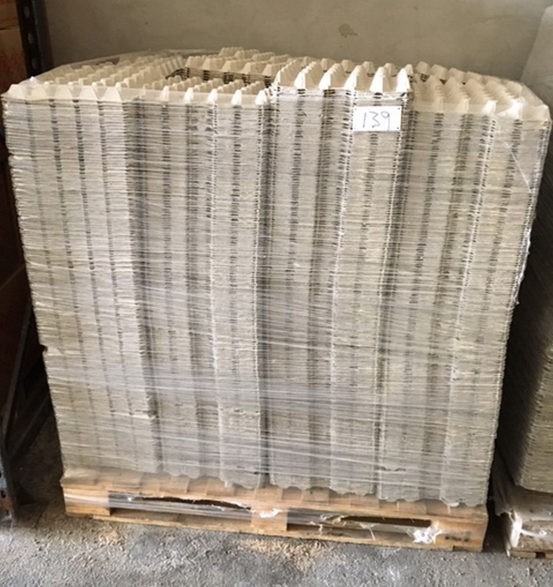 Lot 139 - Pallet of Egg Trays (20s).