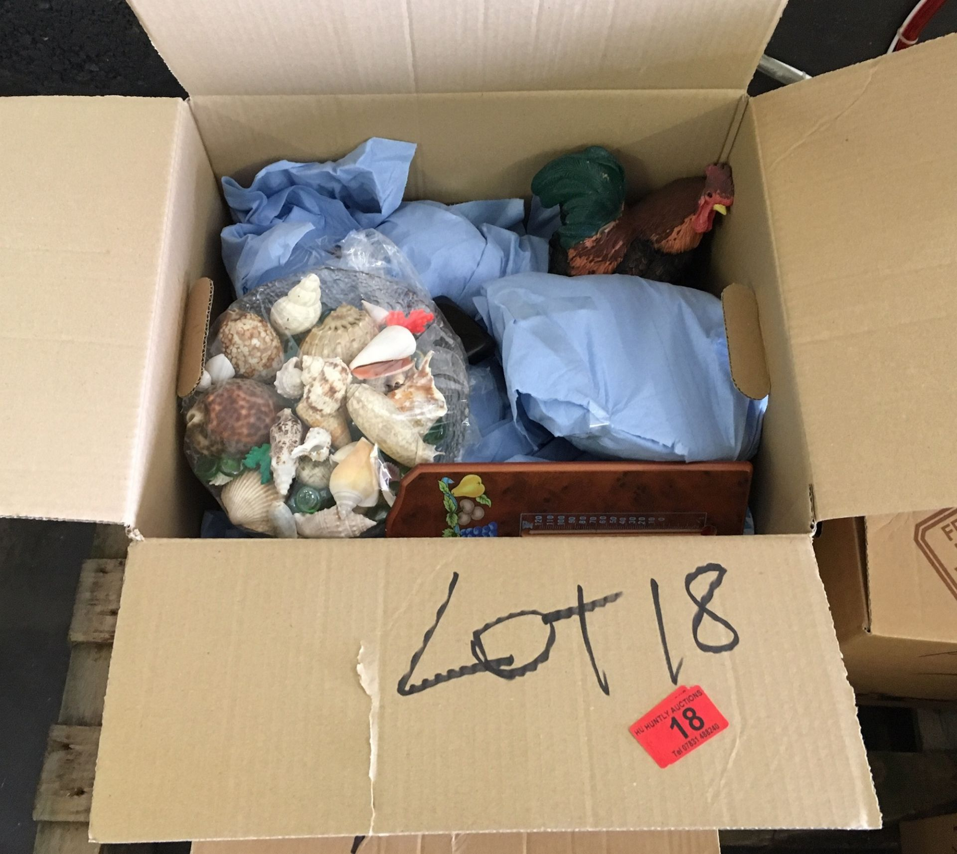 Lot 18 - 3 Boxes of Ornaments.