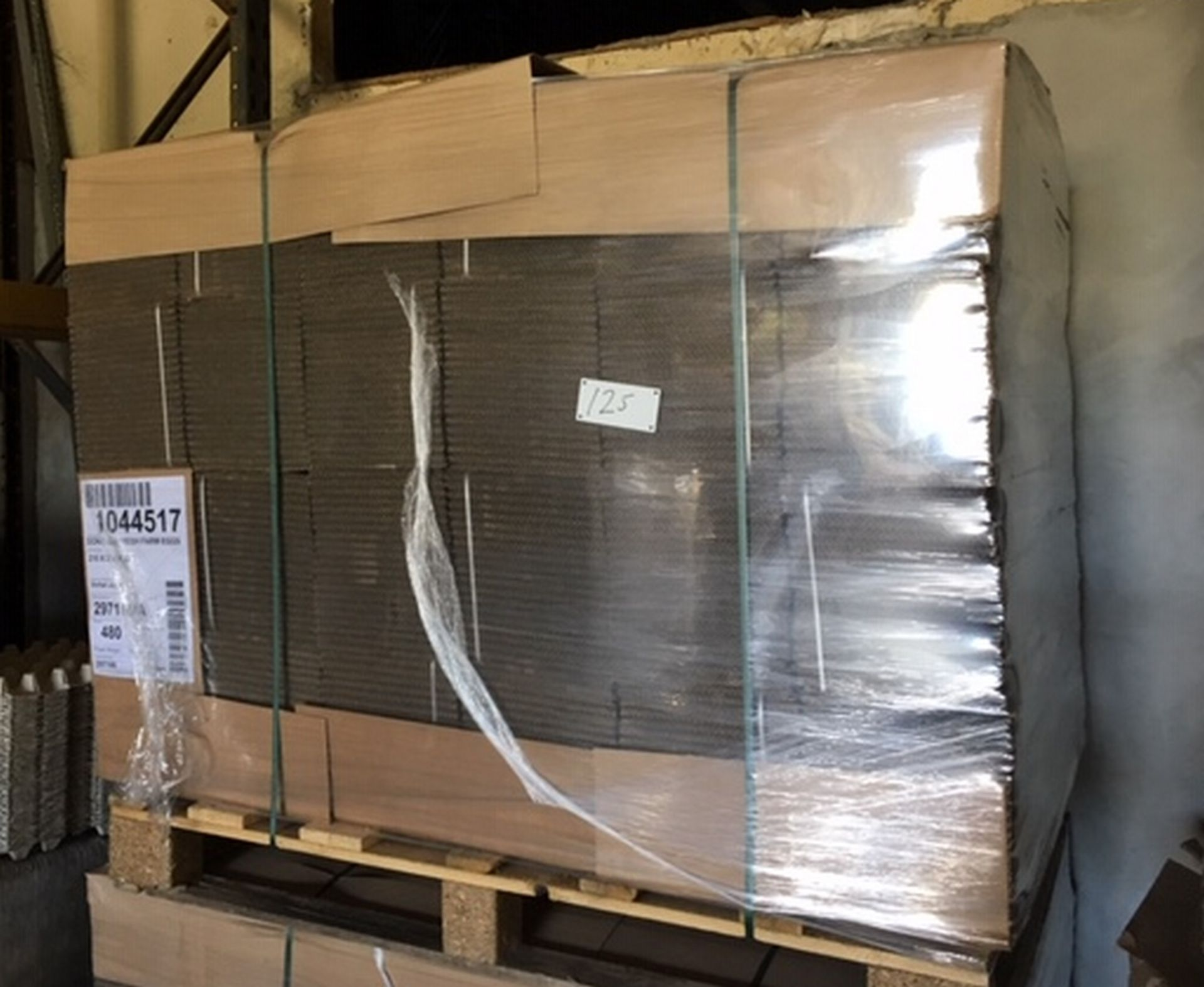 Lot 125 - Pallet of 480 Cardboard Boxes 210mm x 210mm x 232mm.
