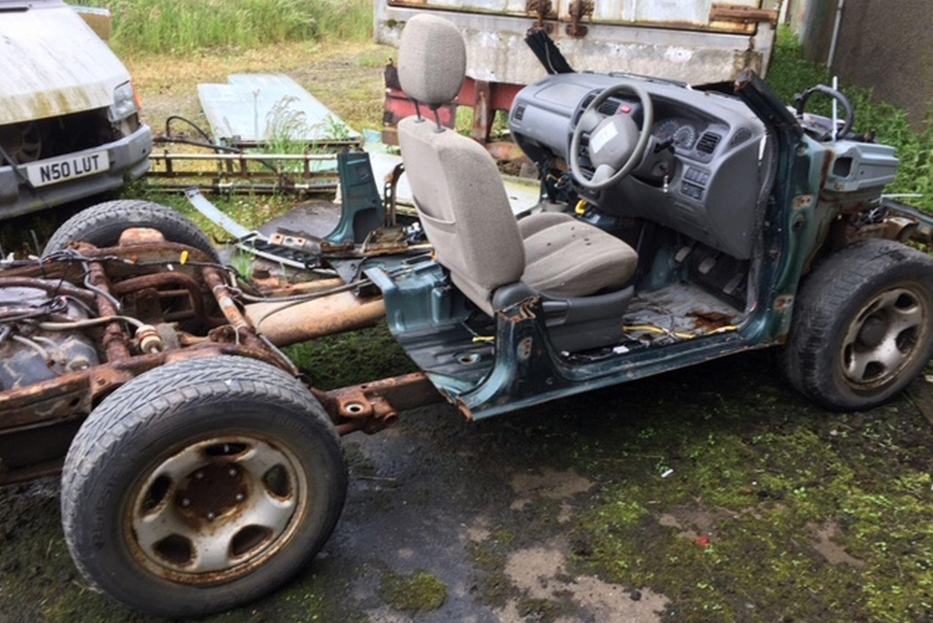 Lot 199 - Scrap Car.