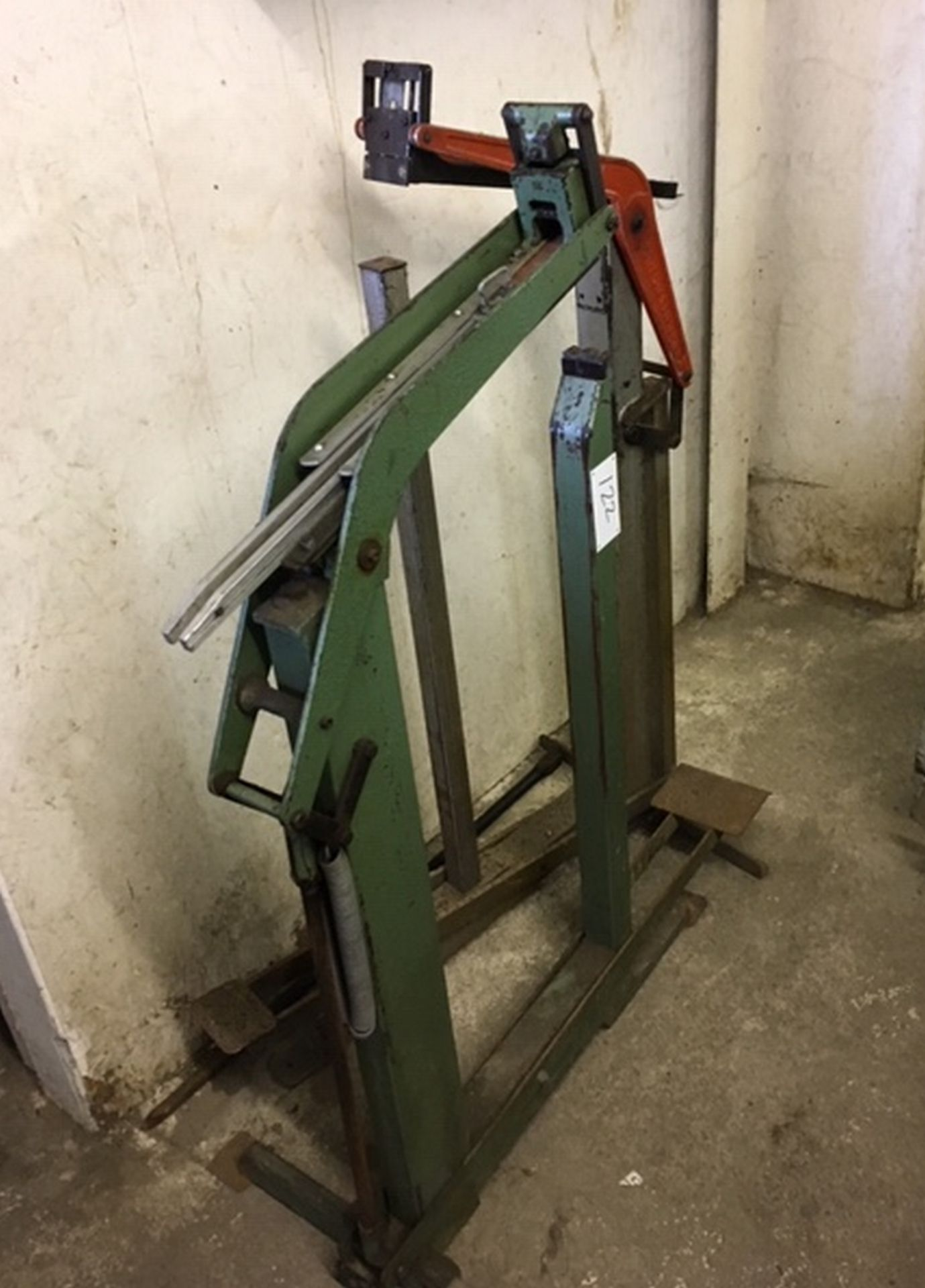Lot 122 - Pair of Industrial Staplers.