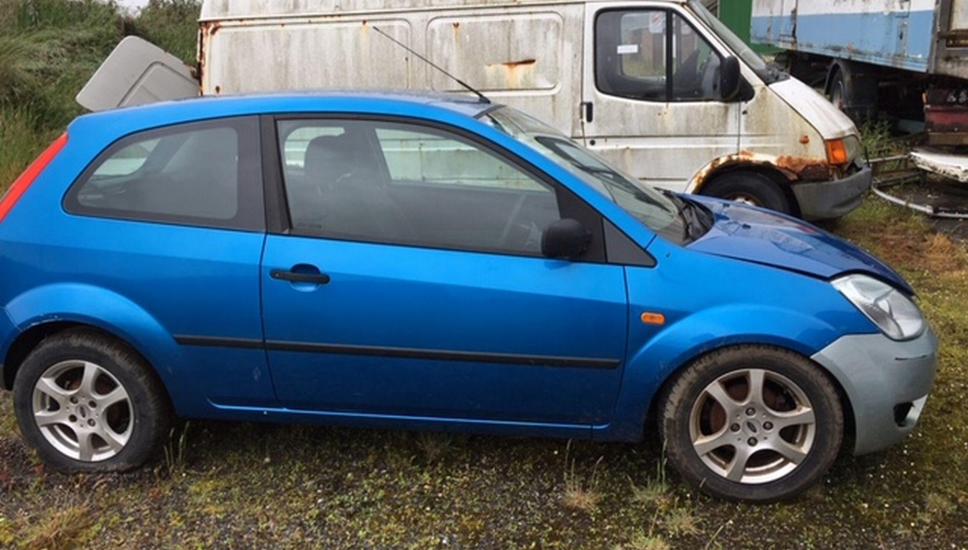Lot 201 - Scrap Car.