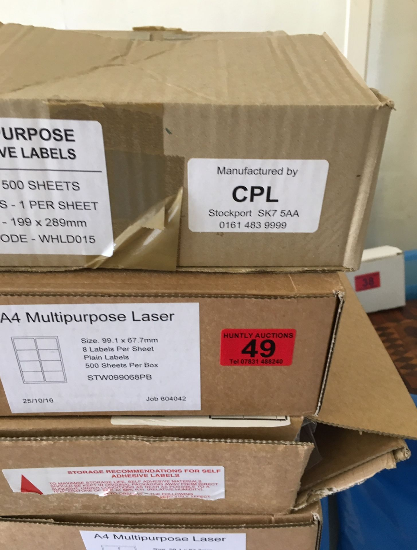 Lot 49 - Lot of Multipurpose Laser Paper.