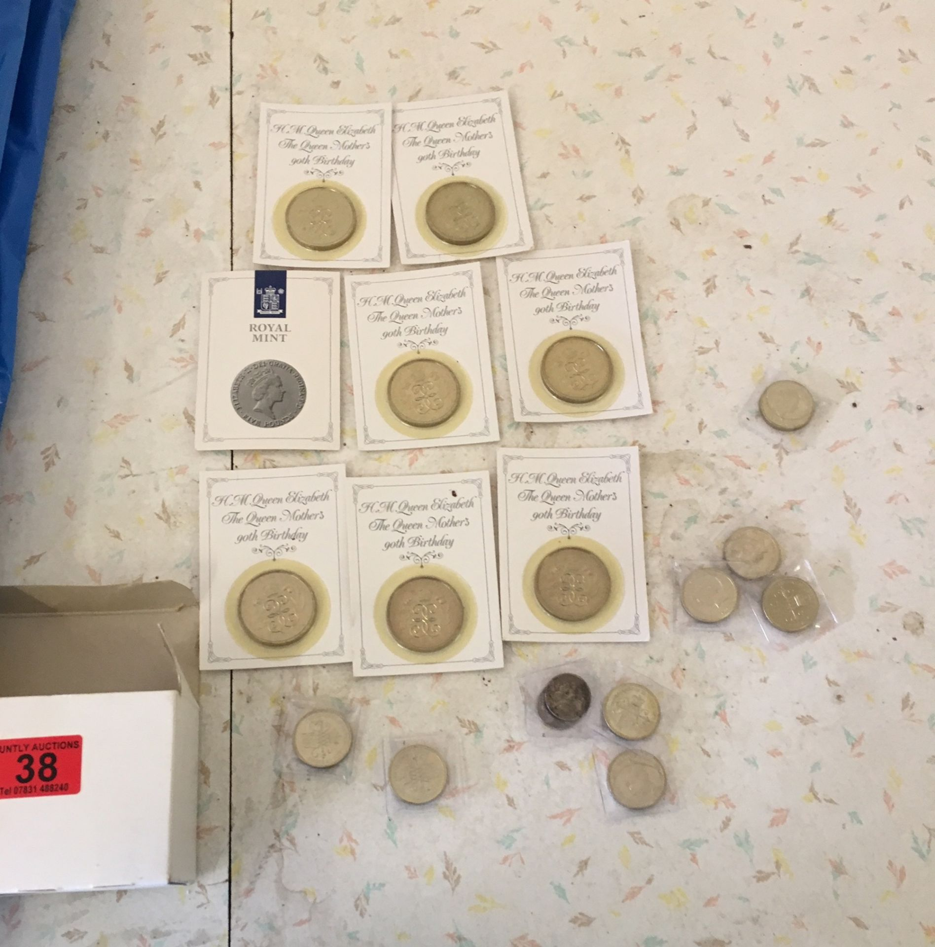 Lot 38 - Lot of Queen Mother £5 Coins and £2 Coins etc.
