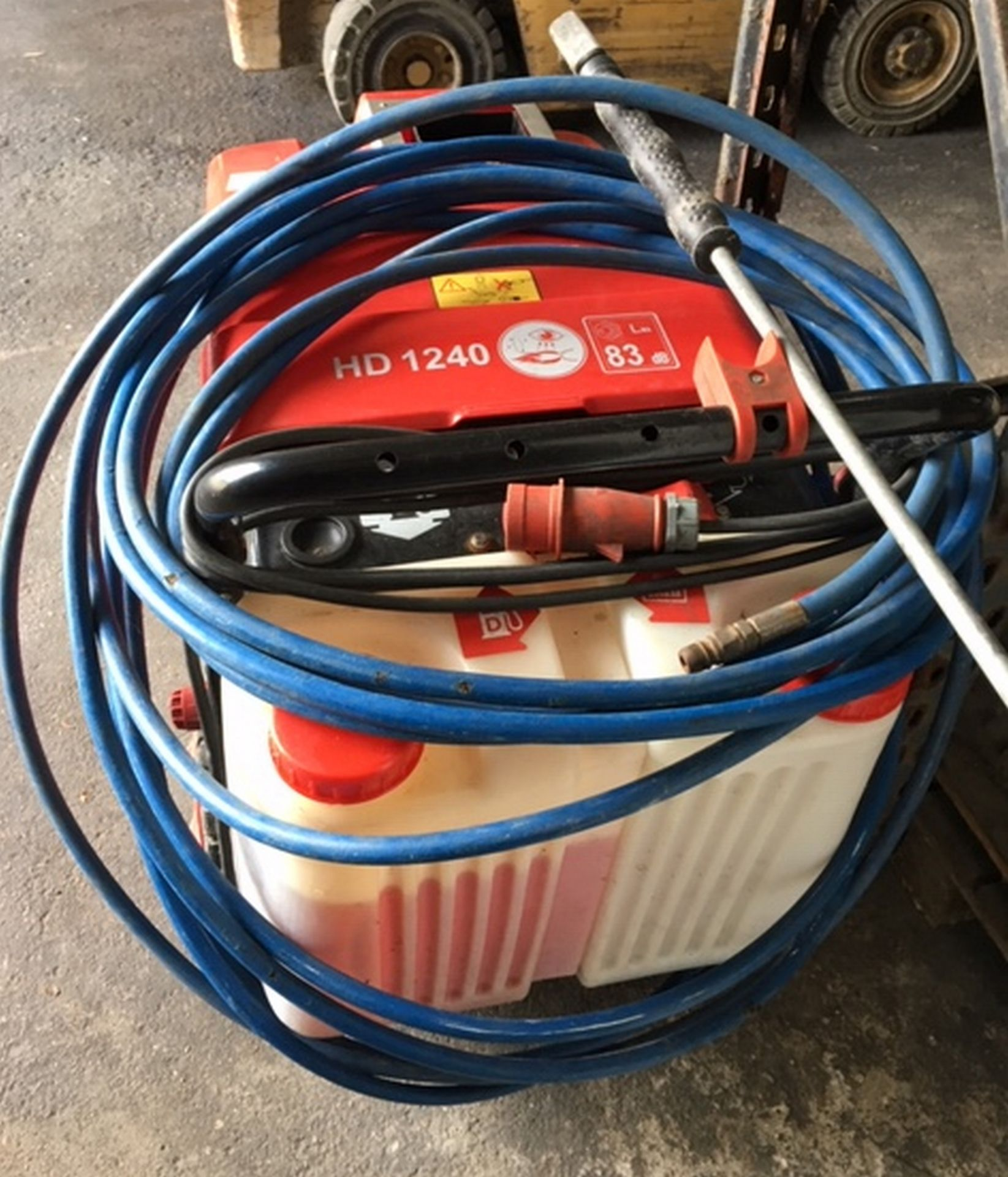 Lot 150 - Erhle Etronic 2 Power Washer with Manuals in an working order.