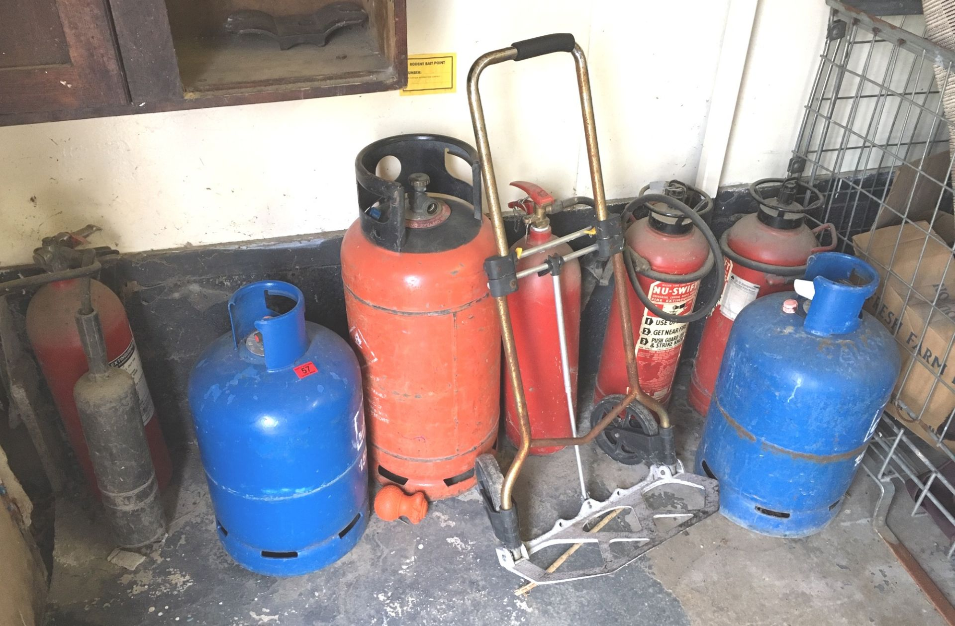 Lot 57 - Lot of Fire Extinguisher.