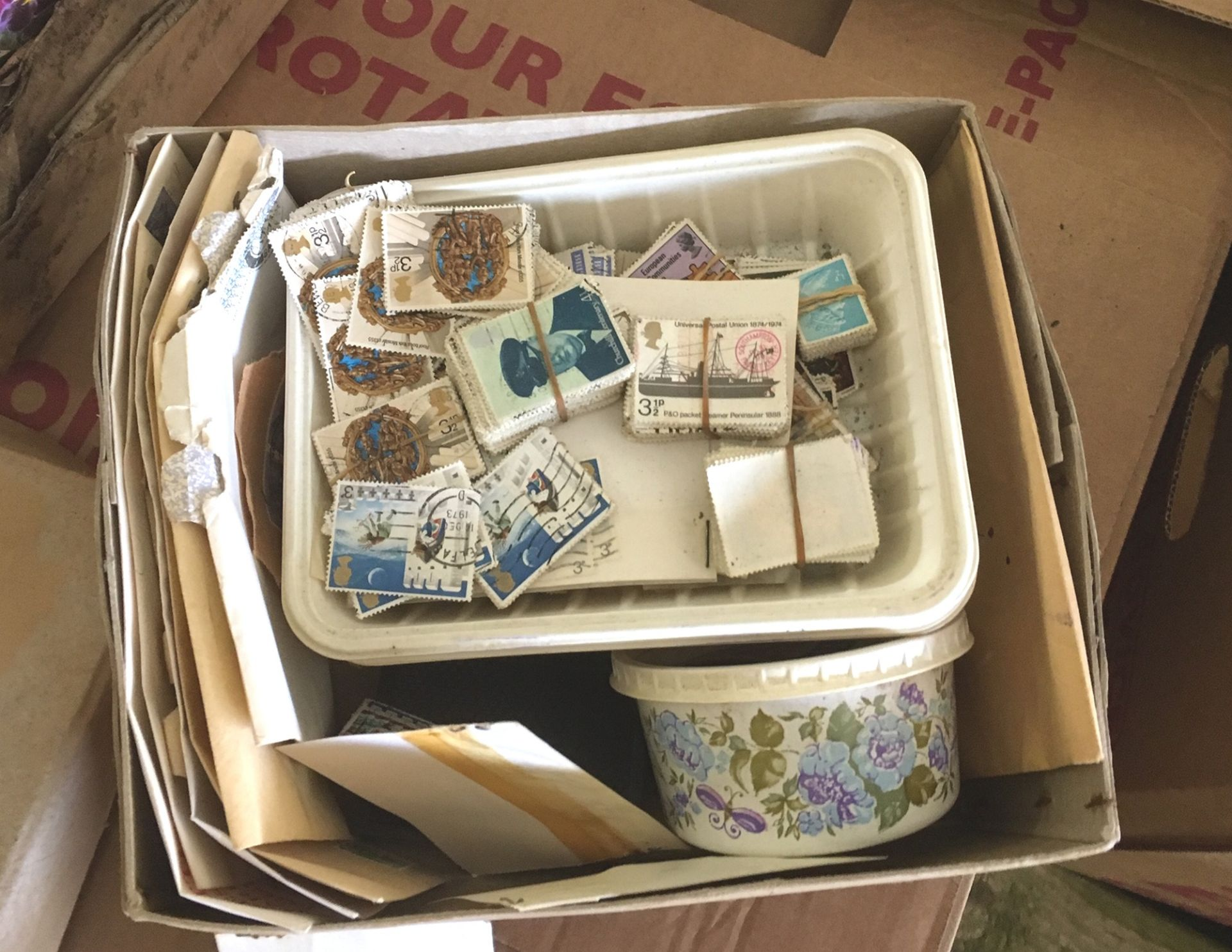 Lot 7 - Huge Lot of Various Stamps.